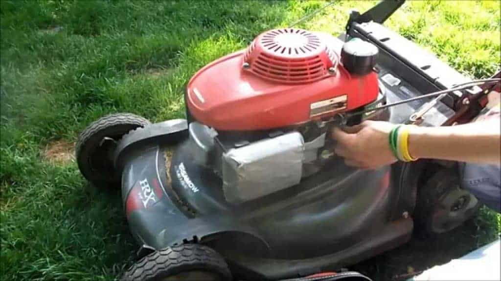 Check The Lawn Mower Choke