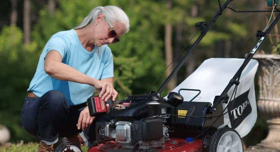 SAE 40 Lawn Mower