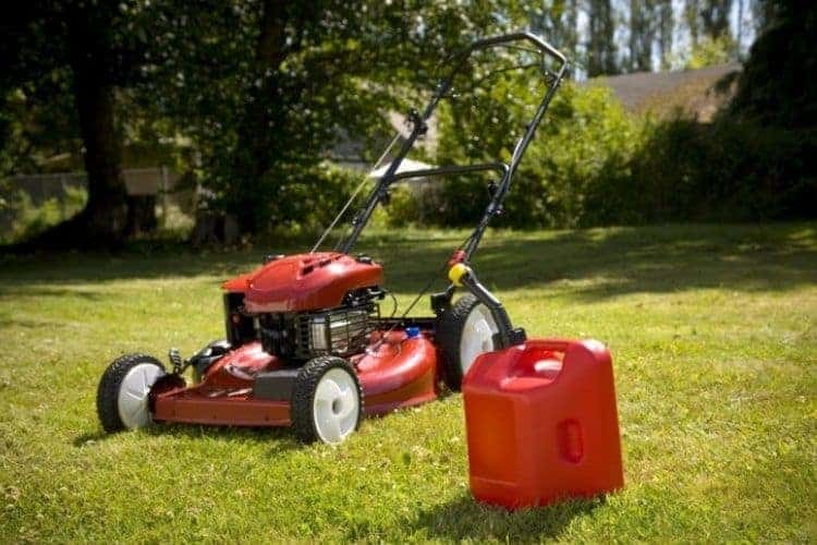 Lawn Mower Will Not Start After Running Out Of Petrol