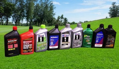 Type Of Lawnmower Oils Are There