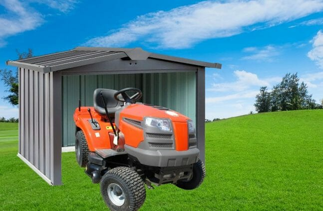 Why Is a Shed The Best Place To Store Your Mower