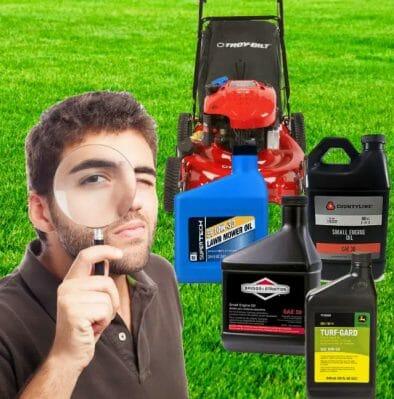 When Choosing a Lawnmower Oil