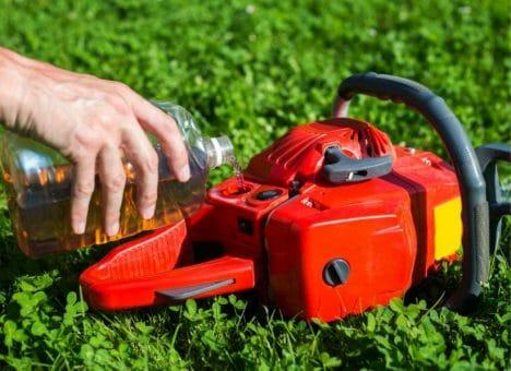 Chainsaw Oil Work In My Lawnmower