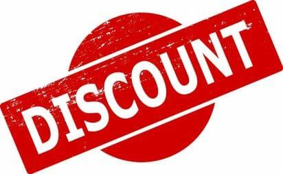 Rent Discount