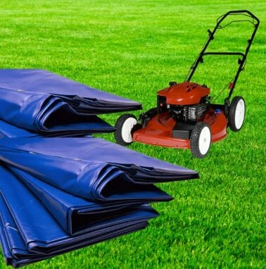 Store Your Mower Outside