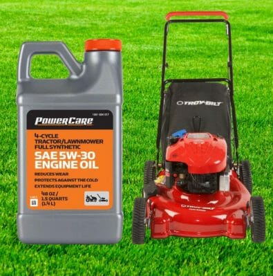 Can I Use Synthetic Oil In My Lawnmower